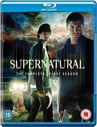 Bluray Box Sobrenatural Temporadas 1 E 2 Inglaterra Uk