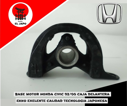 Base Motor Honda Civic 92-00 Caja Delantera