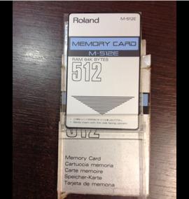 Memory Card Roland D70 - Instrumentos Musicais no Mercado Livre Brasil