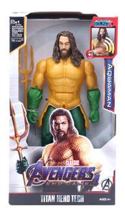 Aquaman Muñeco Con Luz Y Sonido 30cm - Fair Play Toys