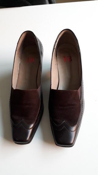 Zapatos Mujer Con Taco