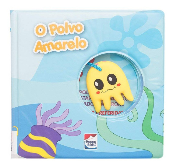 Livro De Banho Polvo Amarelo