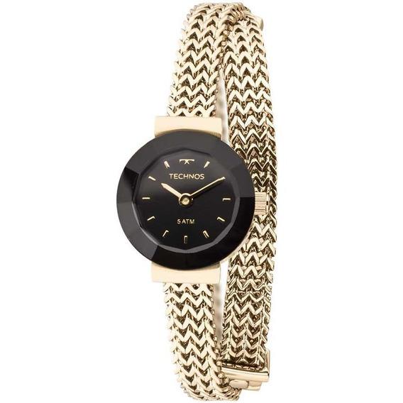 Relógio Feminino Technos Elegance Mini 5y20ip/4p Aço Dourado