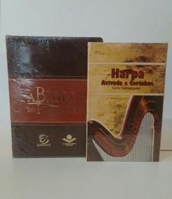 A Bíblia Do Pregador De Estudo Com Esboços Sbb + Harpa