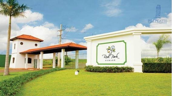 Terreno À Venda, 250 M² Por R$ 160.000,00 - Residencial Real Parque Sumaré - Sumaré/sp - Te0497