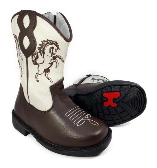 Bota Country Infantil Texana Rodeio Cowboy Peão Kifofo 8166