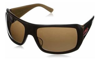 Locs Sporty Shield Shark Fin Gangster Plastic Sunglasses