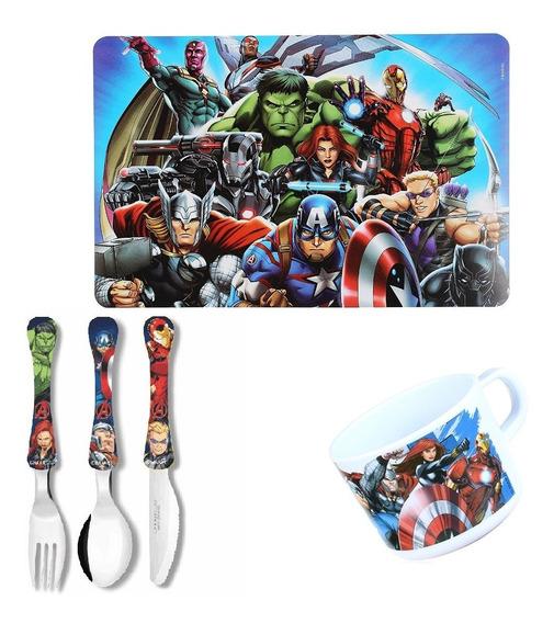 Conjunto Avengers Vingadores 3 - Oficial - Jogo Americano