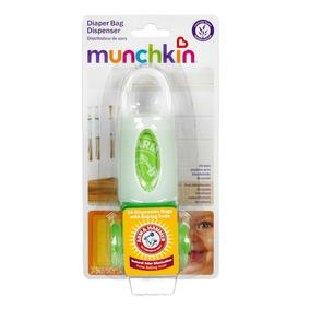 Dispenser Com Sacos Para Fraldas - Munchkin 24 Unidades