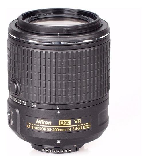 Lente Nikon Af-s Dx Nikkor 55-200mm F/4.5-5.6g If Ed Com Vr