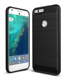 Capa Case | Google Pixel Xl | Carbon Fiber | Anti Impacto