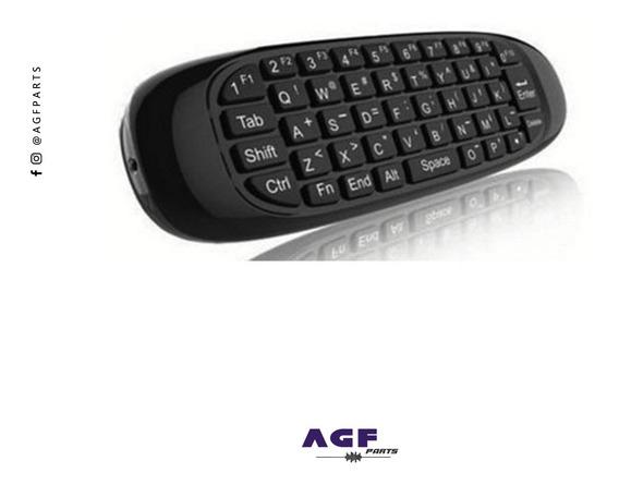 Controle Air Mouse Comando De Voz - Smart Tv Mouse Teclado