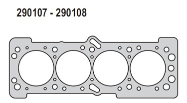 Imagen 1 de 5 de Junta Tapa-cilindro Chevrolet Aveo 1.4/1.6