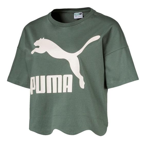 Remera Puma Moda Scallop Mujer Vd