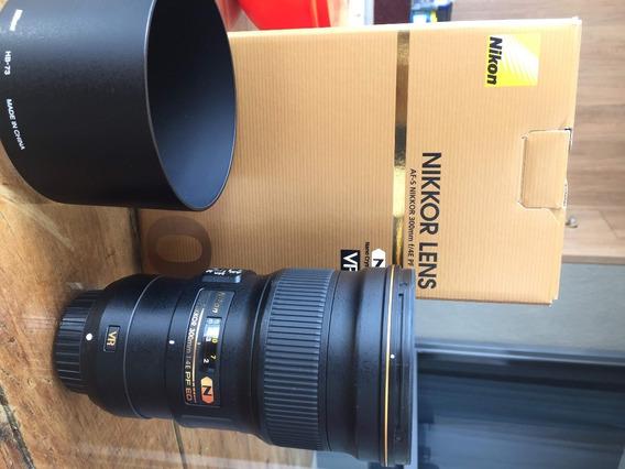 Nikon Af-s Nikkor 300mm F/4e Pf Ed Vr Lente 300