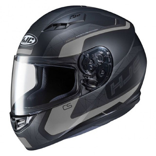 Casco Para Moto Hjc Cs-15 Dosta Negro Certificado Ecer22-05