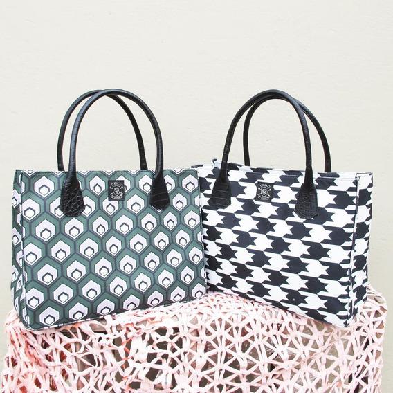 Bolso Cartera Mujer C/cuero Shoping Bag Milano Rac.borse