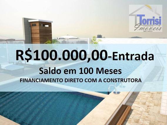 Apartamento Em Praia Grande, 03 Dormitórios, Mirim Ap1059 - Ap1059