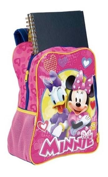 Mochila Infantil Escolar Minnie Grande Disney Sestine