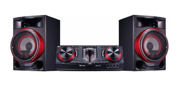Mini System Lg Xboom Cj87 Multi Bluetooth 1800w Rms Dual Usb