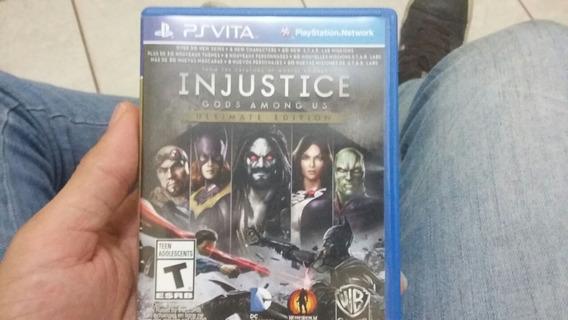 Injustice Gods Among Ps Vita