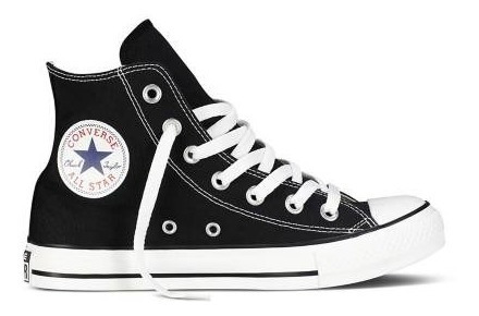 Botita Converse Negra Kids All Star