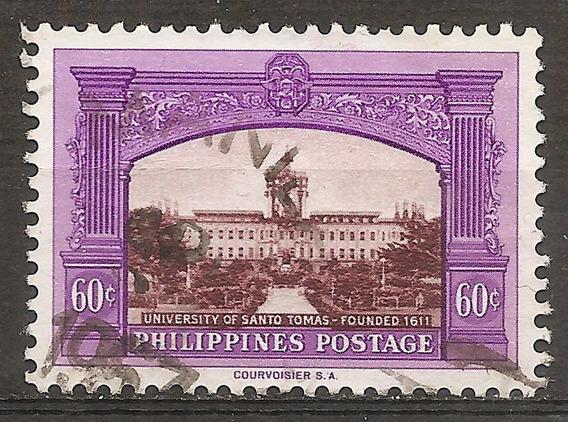 Filipinas Philippines Valor Usado Yvert 445 Año 1956