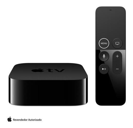 Apple Tv 4k 32gb Hdmi Bluetooth - Apple - Mqd22bz/a