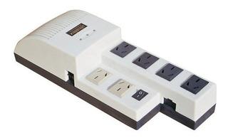 Estabilizador De Tension Atomlux Filtro Telefonico Ator500