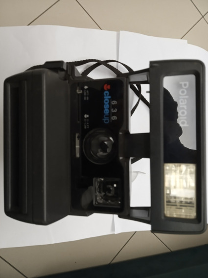 Polaroid 636 Close Up Usada Somente A Maquina