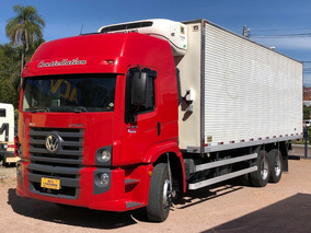 Vw 24250 2011 Leito Baú Ibiporã Thermoking T800r