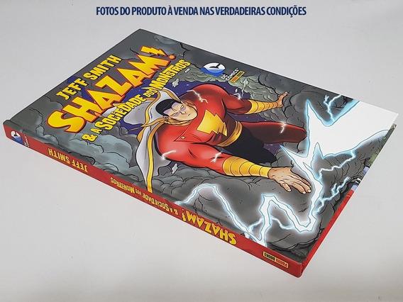 Livro Capa Dura: Shazam! & A Sociedade Dos Monstros
