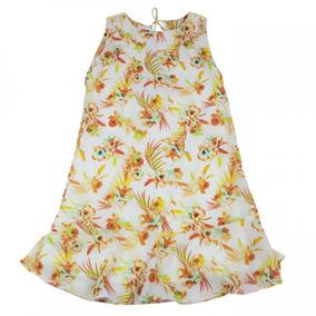 Vestido Infantil Menina Acostamento Fashion Estampado