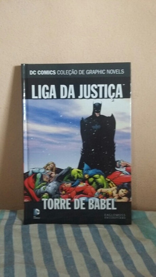 Liga Da Justiça - Torre De Babel
