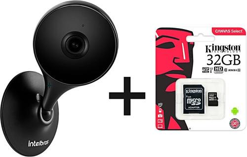 Imagem 1 de 9 de Câmera Segurança Im3 Intelbras Wifi + Cartão De Memória 32gb