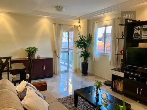 Imagem 1 de 30 de Apartamento Com 3 Dormitórios, 87 M² - Venda Por R$ 590.000,00 Ou Aluguel Por R$ 2.500,00/mês - Mooca - São Paulo/sp - Ap5710