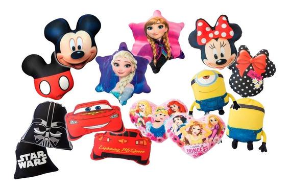 Promo Almohadones Personajes Disney Piñata X 12 Unidades