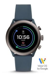 Fossil Sport Ftw4021 Smartwatch Silicone Reloj Hombre 43mm