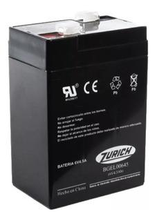 Batería Repuesto Para Luces De Emergencia 6v 4.5a - Tofema.