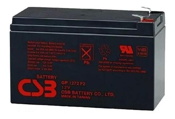 Bateria Csb 12v 7ah Gp1272 F2 Apc Alarmes No Breaks Promoção
