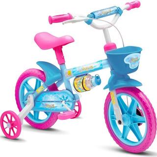 Bicicleta Infantil Aro 12 Con Limita Giro - Azul