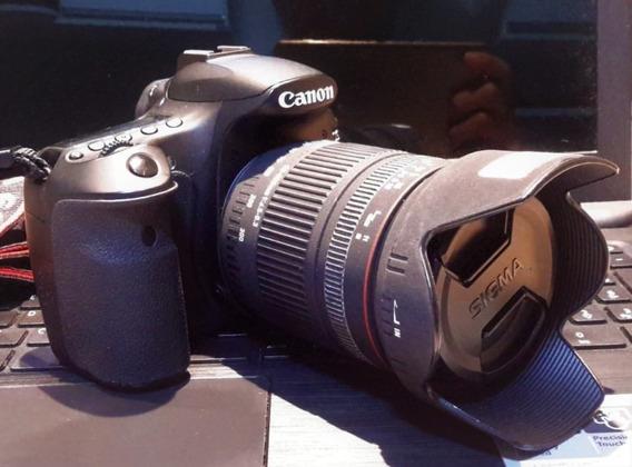 Câmera Profissional Canon Eos 60d + Lente Sigma 28 - 300mm