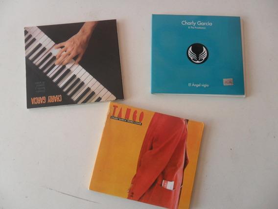 Lote 4 Discos Cd Charly Garcia Angel Vigia Filosofia Tango