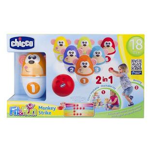 Chicco Fit & Fun Monkey Boliche Aprende Numeros Y Colores