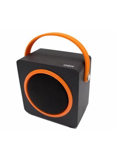 Caixa De Som Sk404 Bluetooth Fm Micro Sd 10w Oex Laranja