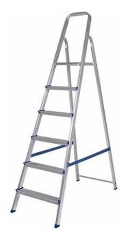Escalera Aluminio Mor 5104 - 6 Escalones