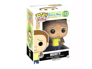 Funko Pop Morty 113 Rick And Morty Original Pop Animation