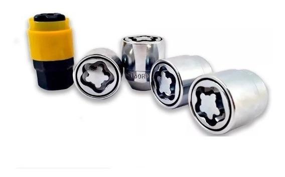 Trava / Porca Parafuso Antifurto De Rodas - Tracker Até 2012 / Nissan / Subaru / Suzuki Gran Vitara Jimny Swift Vitara