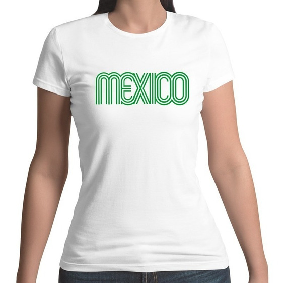 Playera México 68 70 Selección Mexicana Personalizada