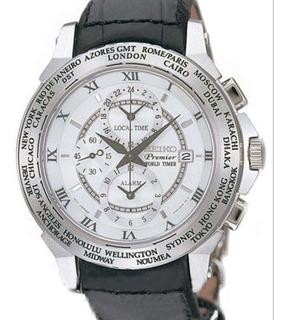 Reloj Seiko Hombre Premier Sl011p1 Garantia Oficial Belgrano